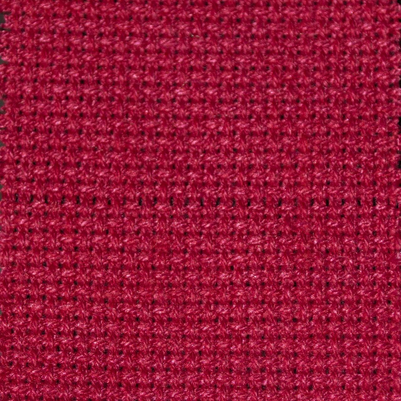 Красная канва для вышивания 55х50 ТВШ-21 1/7