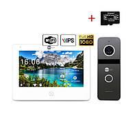 Комплект відеодомофона NeoLight NeoKIT HD Pro WiFi Graphite