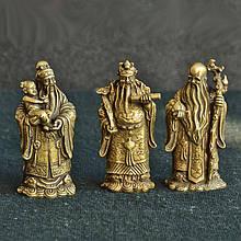 Три звездных бога Фен Шуй - Богатство, Долголетие, Здоровье