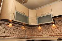 """Кухня """"Афина"""" с фасадами из пластика"""