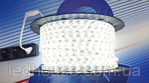 Светодиодная лента 220V 2835/60 led Белая IP68 PREMIUM