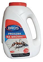 Порошок от муравьев, средство для уничтожения гнезд муравьев 1 кг, Bros