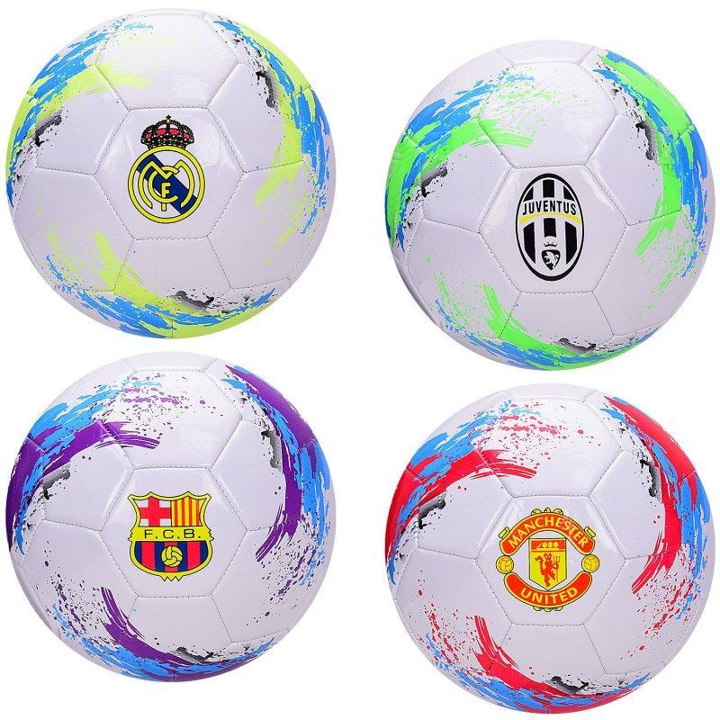 Мяч футбольный  №5, PVC, 280 грамм, MIX 4 цвета FB2106