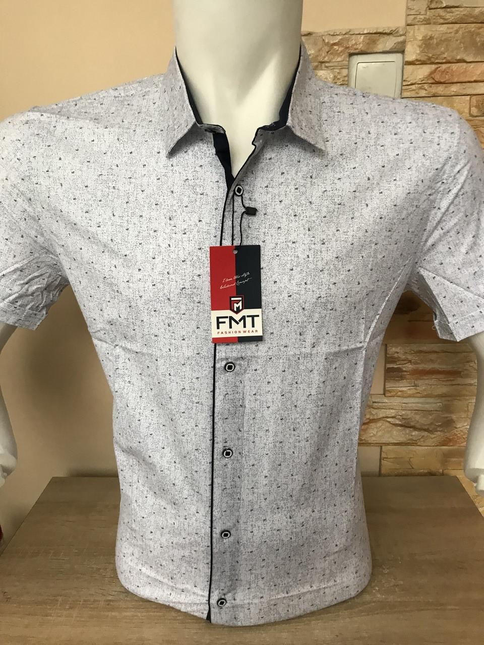 Сорочка короткий рукав FMT з принтом