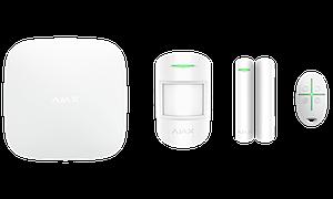 Расширенный комплект беспроводной сигнализации Ajax StarterKit Plus white.