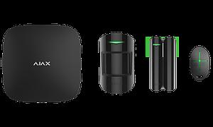 Расширенный комплект беспроводной сигнализации Ajax StarterKit Plus black.