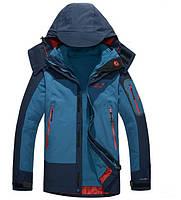 Мужская куртка 3 в 1 Jack Wolfskin XL-5XL. Стильные куртки. Верхняя одежда. Мужские модные куртки. Код: КЕ331