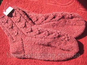 Шкарпетки вовняні ручної роботи, р. 36-38