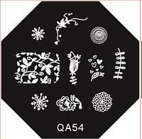 Диск для стемпинга серии QA №54