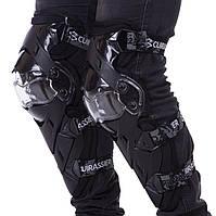Мотозахист Захист для мотоцикла Наколінники 2 шт CUIRASSIER Чорний (K09)
