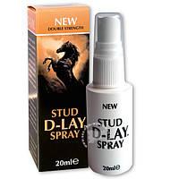 Спрей-пролонгатор для мужчин Stud D-Lay Spray, 20 мл.