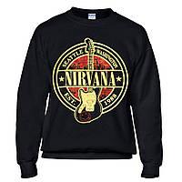 Толстовка Світшот NIRVANA лого з гітарою