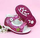 Ортопедические босоножки девочкам от ТомМ, детские сандалии с каблуком Томаса, фото 2