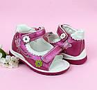 Ортопедические босоножки девочкам от ТомМ, детские сандалии с каблуком Томаса, фото 4