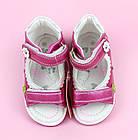 Ортопедические босоножки девочкам от ТомМ, детские сандалии с каблуком Томаса, фото 7