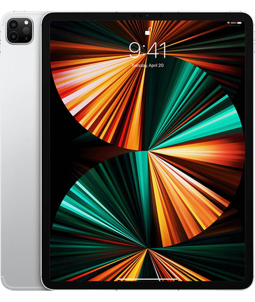 Apple iPad Pro 12.9 2021 Wi-Fi + Cellular 128GB Silver (MHNT3)