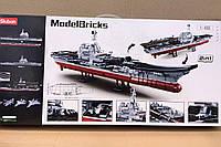 Конструктор SLUBAN M38-B0698 военный корабль 1728дет.
