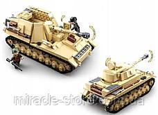 Конструктор Sluban Німецький середній танк Panzer IV 2в1 543 деталі, фото 3