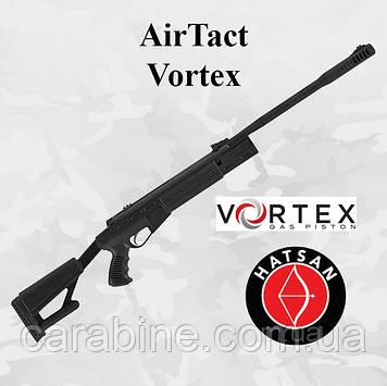 Пневматическая винтовка Hatsan AIRTACT Vortex магнум класса c газовой пружиной (Хатсан Аиртакт)