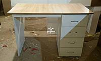 Манікюрний стіл зі стільницею дуб сонома Модель V307