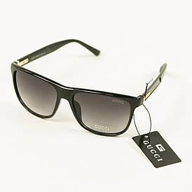 Солнцезащитны очки унисекс Gucci (реплика) - Черные - 1107/1