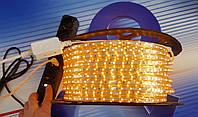 Светодиодная лента 220V smd 3528/60 led ЖЕЛТАЯ  IP68