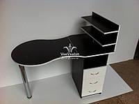 Маникюрный стол складной черный Модель V41, фото 1
