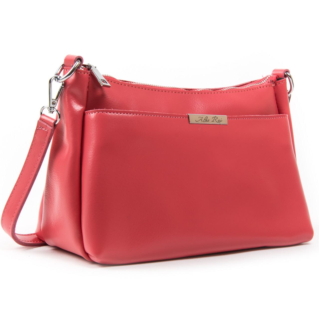 Жіноча сумка шкіряна ALEX RAI різні кольори