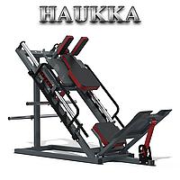 Тренажер комби жим ногами гак машина HAUKKA К243 Rev.2.0 Grey