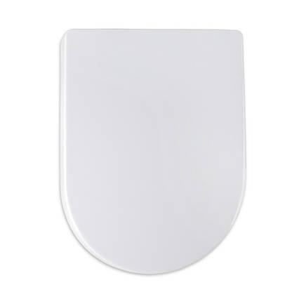 Кришка для унітазу біла з мікроліфтом Zumba AWD02181691