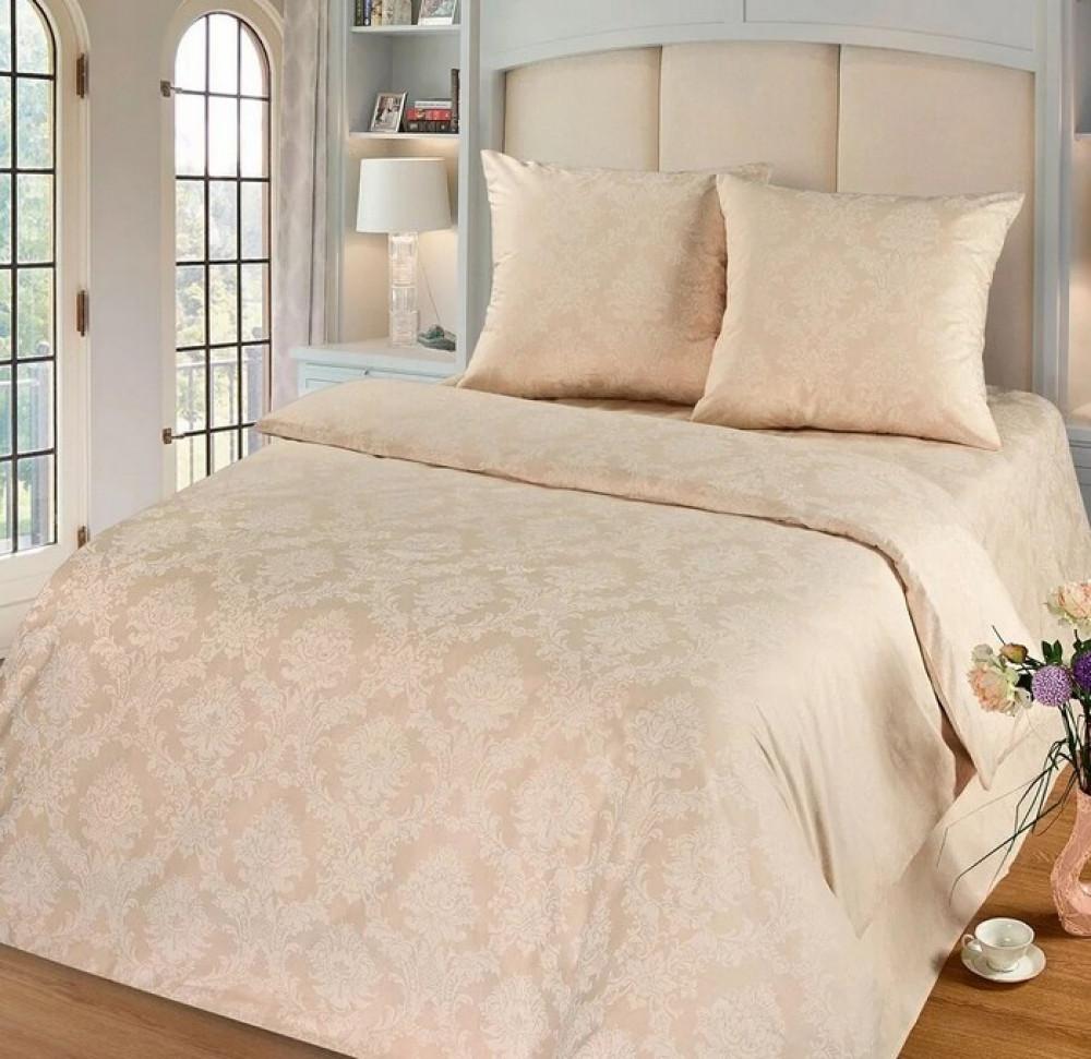 Постільна білизна Перли поплін ТМ Комфорт-текстиль (Полуторний)