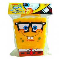 Nickelodeon «Губка Боб» Мягкая губка для купания (d=22)