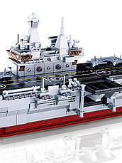 Конструктор Sluban Авіаносець 1088 деталей військовий корабель, фото 2