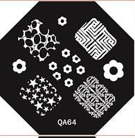 Диск для стемпинга серии QA №64