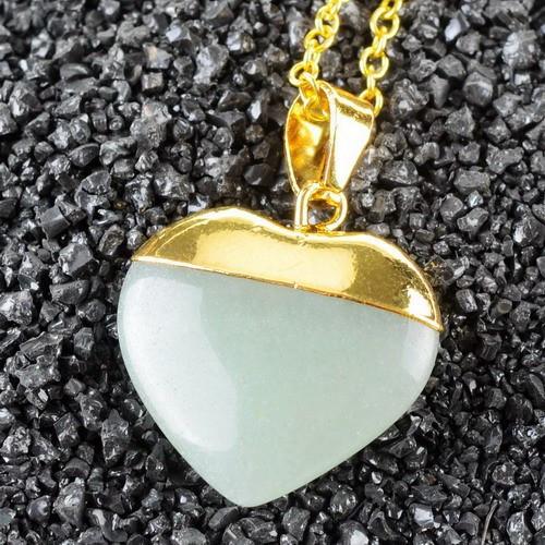 Кулоны из натуральных камней - кварц
