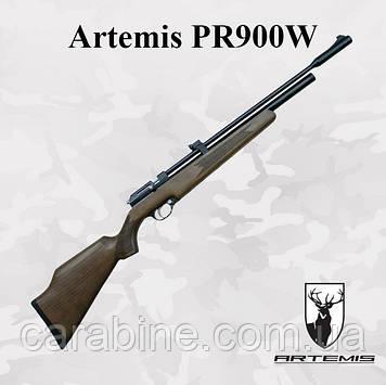 Пневматическая винтовка PCP Artemis PR900W предварительная накачка 274 м/с (Артемис ПР900)