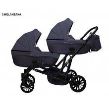 Детская коляска для двойни MIKRUS GEMELLO 03