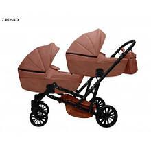 Дитяча коляска для двійні MIKRUS GEMELLO 07