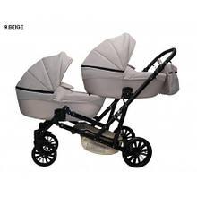 Детская коляска для двойни MIKRUS GEMELLO 09