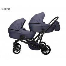 Дитяча коляска для двійні MIKRUS GEMELLO 10