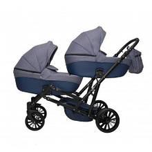 Детская коляска для двойни MIKRUS GEMELLO 17