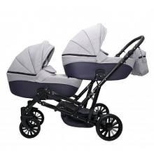 Дитяча коляска для двійні MIKRUS GEMELLO 18
