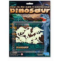 Динозавры 3D светящиеся в темноте