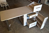 Большой стол для маникюра на колесах Модель V98, фото 1