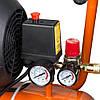 Компресор V 2.5 кВт 435л/хв 8бар 50л (2 крана) GRAD ПРОФІ СЕРІЯ, фото 6