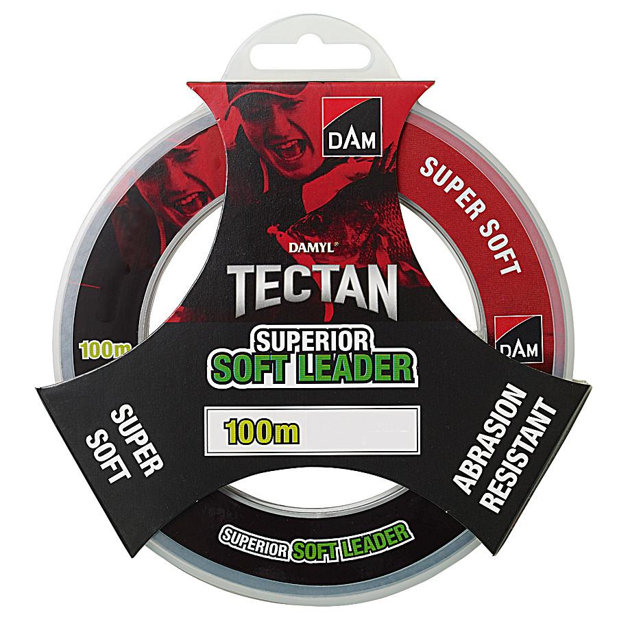 Поводочний матеріал DAM DAMYL Tectan Superior Soft Leader 100M/0.50 MM/22.7 KG (низька пам'ять)