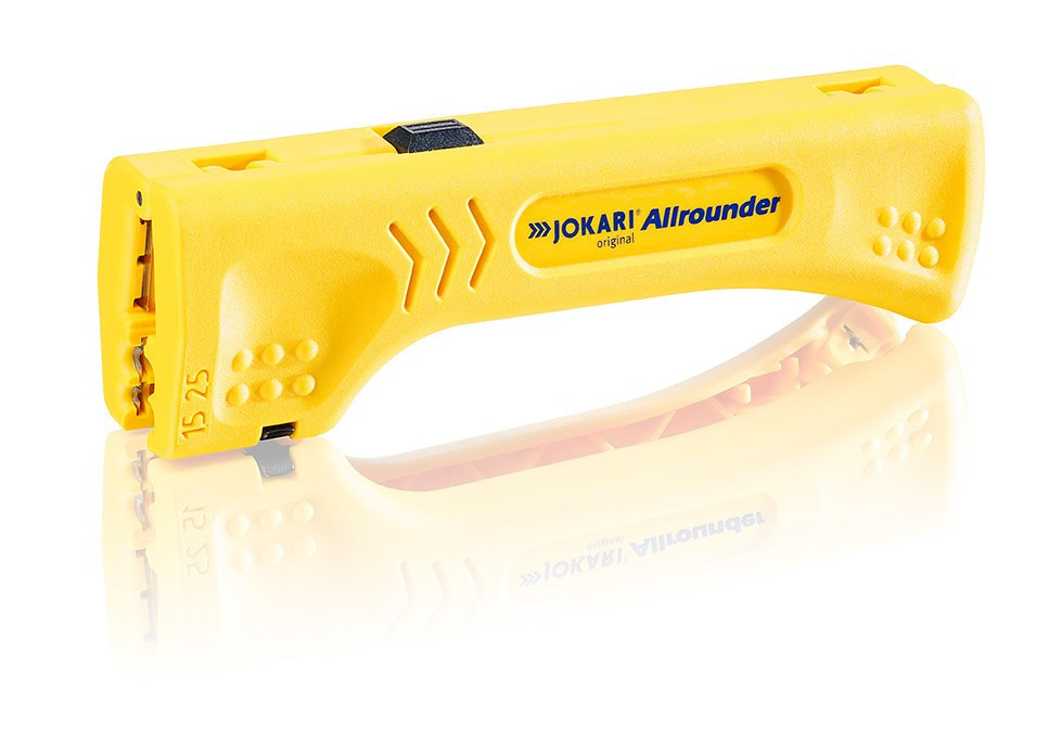 """Инструмент для снятия изоляции JOKARI Cable Stripper """"Allrounder"""" (Германия)"""