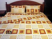 Постельное  двуспальное белье из ткани  бязь Gold - абстракция
