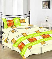 Двуспальное постельное белье Gold - цветное