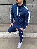 Мужской спортивный костюм Адидас Спортивный костюм Adidas синий